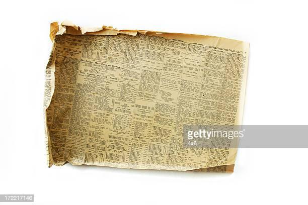 アンティーク風の新聞は 1957 (1