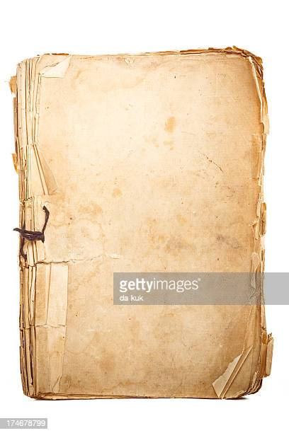 aged notepad - ancient stock pictures, royalty-free photos & images