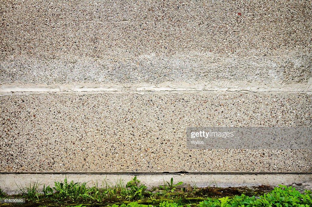 Rua com parede : Foto de stock
