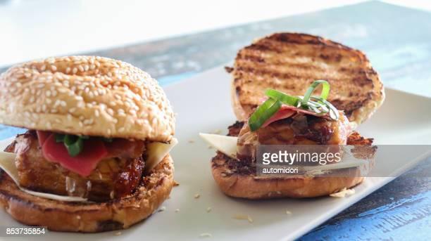 Agedashi Tofu Burger