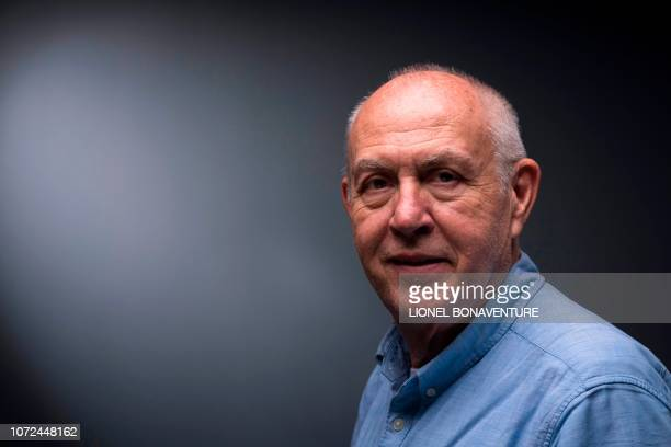 Agence France Presse's Middle East senior reporter Sammy Ketz poses during a photo session in Paris on December 11 2018 Ketz alongside 100 leading...