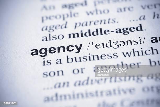 Agency word