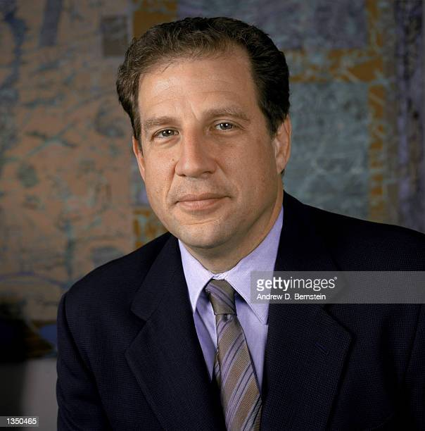 Agent Arn Tellem poses for a portrait after his client, guard Kobe Bryant of the Los Angeles Lakers purchased a 50 percent interest in Olimpia...