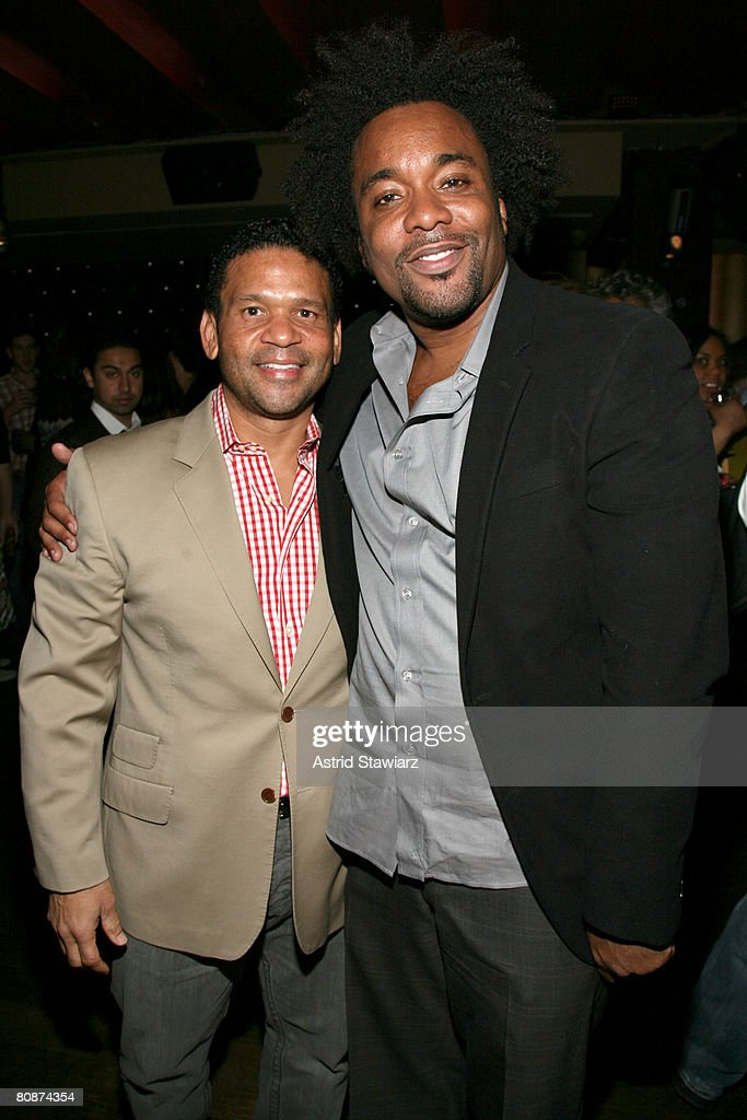 Agent Benny Medina and actor Lee Daniels attends the after party for 'Tennessee' hosted by Cadillac at Tenjune lounge during the 2008 Tribeca Film Festival on April 26, 2008 in New York City.