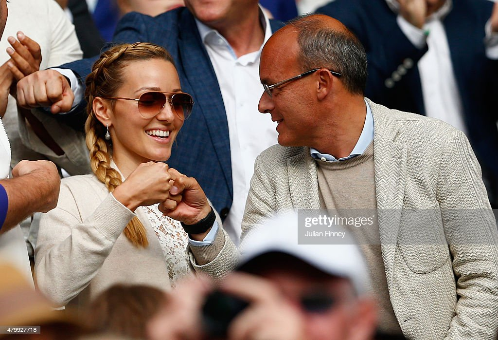 Agent Edoardo Artaldi And Jelena Djokovic Wife Of Novak Watch Novak News Photo Getty Images