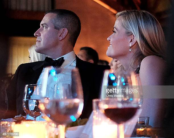 Agent Jim Toth and actress Reese Witherspoon attend the 2015 Baby2Baby Gala presented by MarulaOil Kayne Capital Advisors Foundation honoring Kerry...