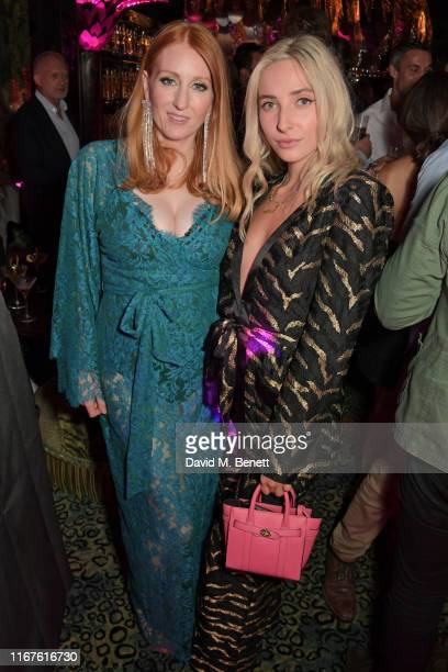 Agent Provocateur Creative Director Sarah Shotton and Dylan Weller attend the Agent Provocateur AW19 campaign launch party in collaboration with Sink...