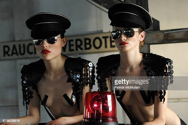 Agent Provocateur Model attends LIFEBALL Presentation of the Mini Cooper 'Clubman' designed by AGENT PROVOCATEUR at Vienna on May 16 2008