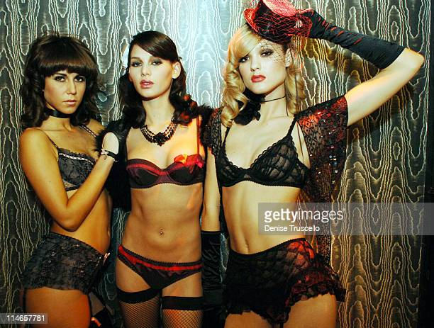 Agent Provocateur Models during Kelly Osbourne and Agent Provocateur Celebrate Their Birthday With 'The Greatest Lingerie Show On Earth' at Body...