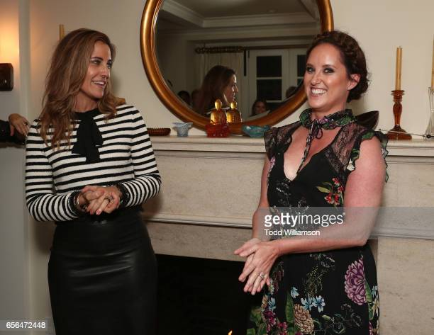 Agent Tracy Brennan and Savannah Film Festival Director Christina Routhier attend a party for the 20th Anniversary of the Savannah Film Festival...
