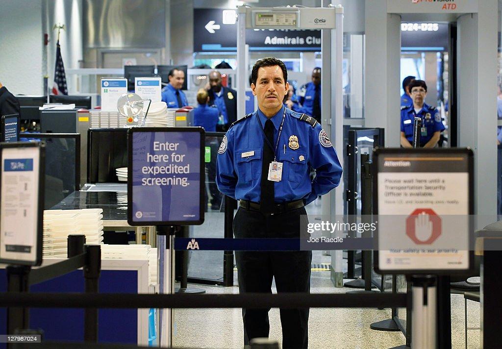 TSA Introduces Pre-Screening Pilot Program For Some Passenger Groups : News Photo