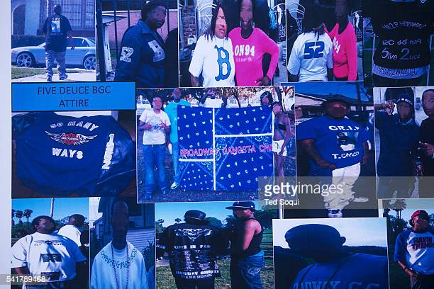 FBI agents along with LAPD officers arrested 50 people in South Los Angeles associated with the Five Deuce Broadway Gangster Crips The operation was...