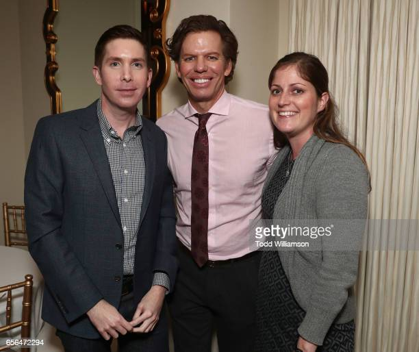 Agents Mills Larson Chuck James and Lauren Willams attend the CAA Agent Tracy Brennan Hosts Party For 20th Anniversary Of Savannah Film Festival...