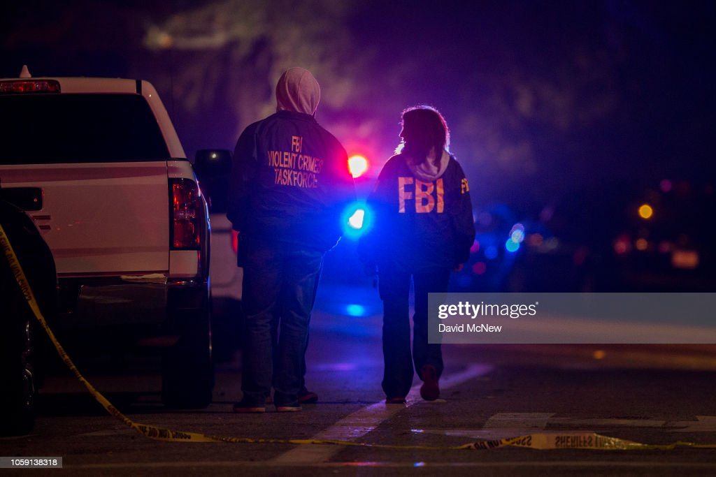 At Least 11 Casualties At Shooting At Country Western Bar In Southern California : ニュース写真