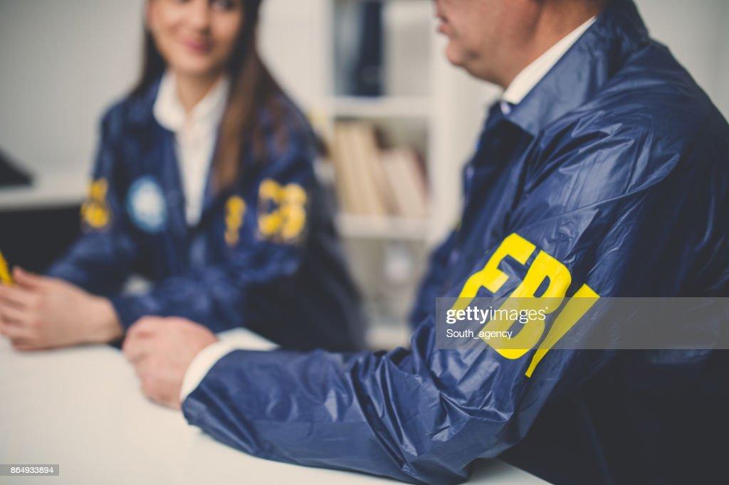 FBI agents : Stock Photo