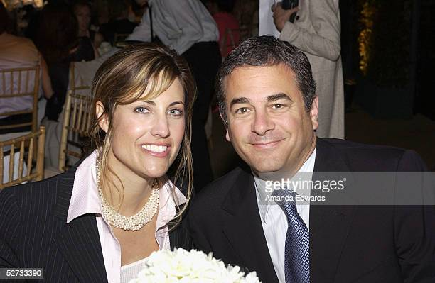 Agents Rick Kurtzman and Tracy Brennan attend the Fall 2005 Proenza Schouler Fashion Show benefiting The Rape Foundation at the home of Heather...