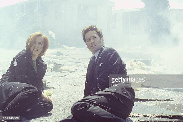 Agents Scully and Mulder witness the repercussions of an unearthy force unleased on a small town in the Je Souhaite episode of THE XFILES which...