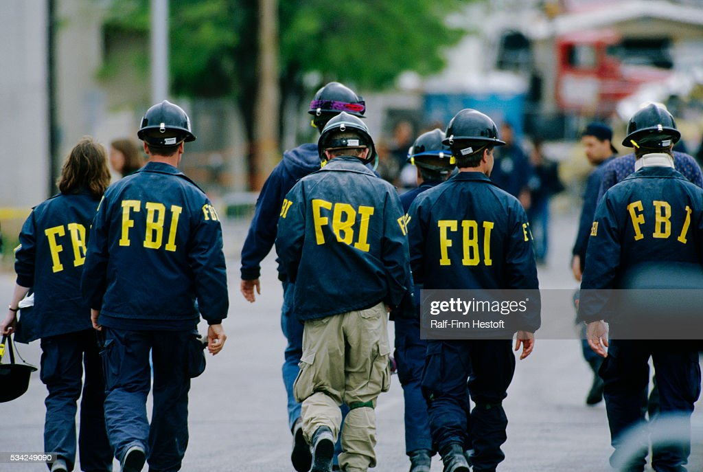 FBI Agents in Oklahoma City : News Photo