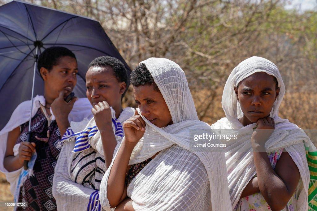 Mai Kadra Attack Survivors Allege Premeditated Ethnic Cleansing : Nachrichtenfoto