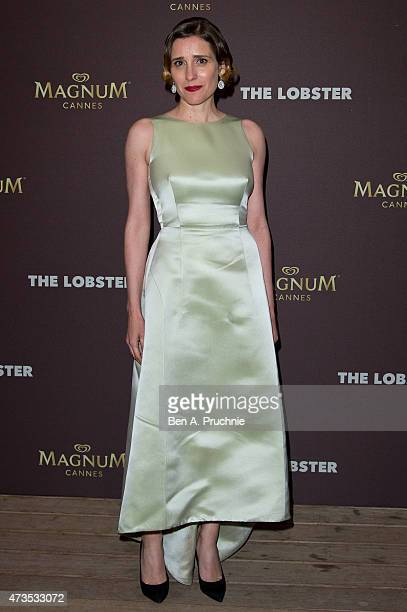 Aggeliki Papoulia attends the after party for 'The Lobster' during the 68th annual Cannes Film Festival on May 15 2015 in Cannes France