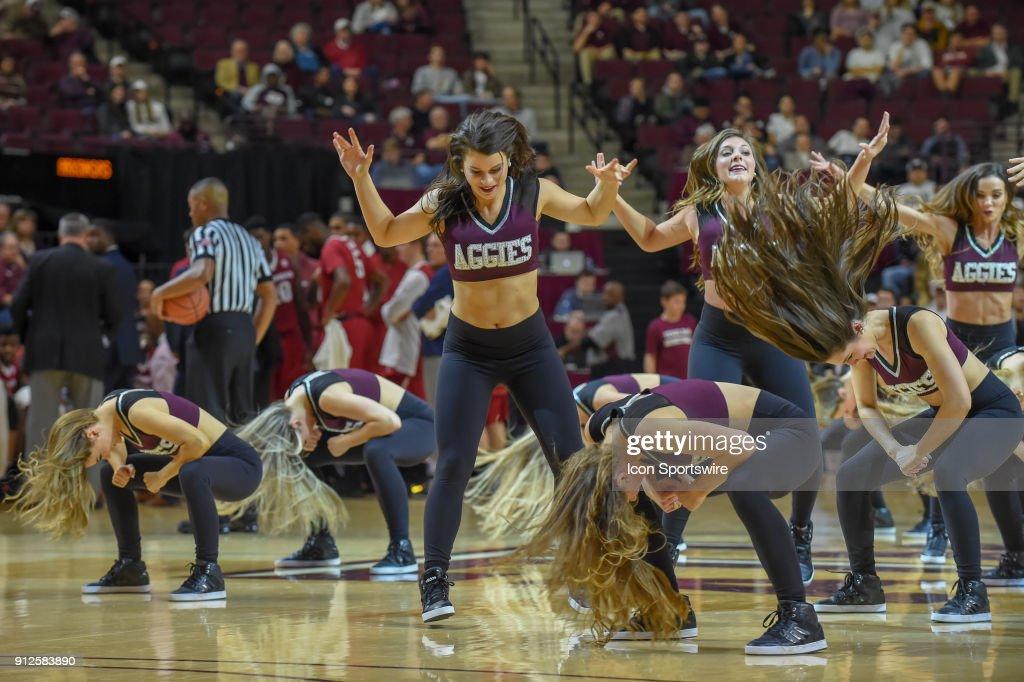 COLLEGE BASKETBALL: JAN 30 Arkansas at Texas A&M : News Photo