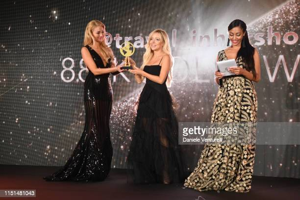 Aggie Lal attends theInaugural 'World Bloggers Awards' during the 72nd annual Cannes Film Festival on May 22, 2019 in Cannes, France. The 'World...