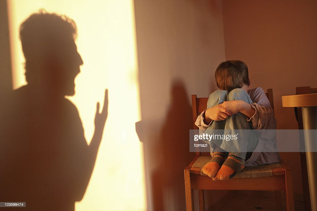 Aggressive parent : Stock Photo