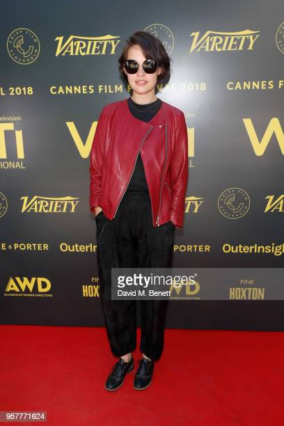 Aggy K Adams attends as WIFT International with Variety Alliance of Women Directors host a cocktail party during the 71st Cannes Film Festival...