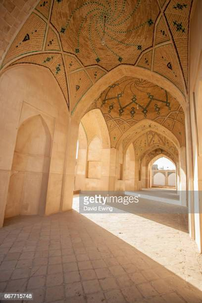 agha bozorg mosque, kashan, iran, middle east - david ewing stock pictures, royalty-free photos & images