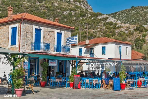 agia kiryaki, pelion, greece - pelion stock pictures, royalty-free photos & images