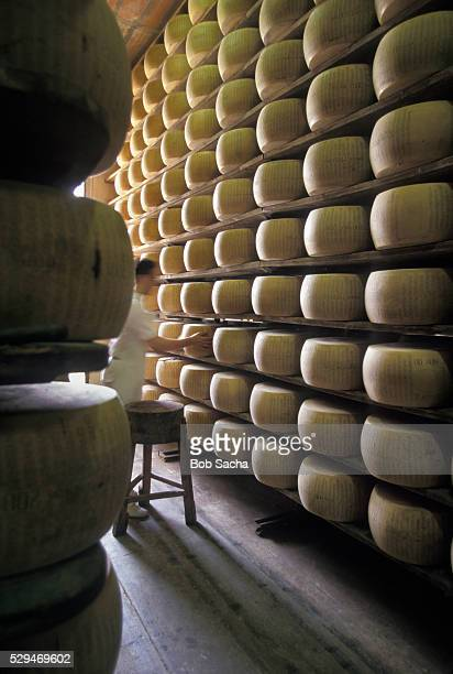 Aging Parmesan Cheese