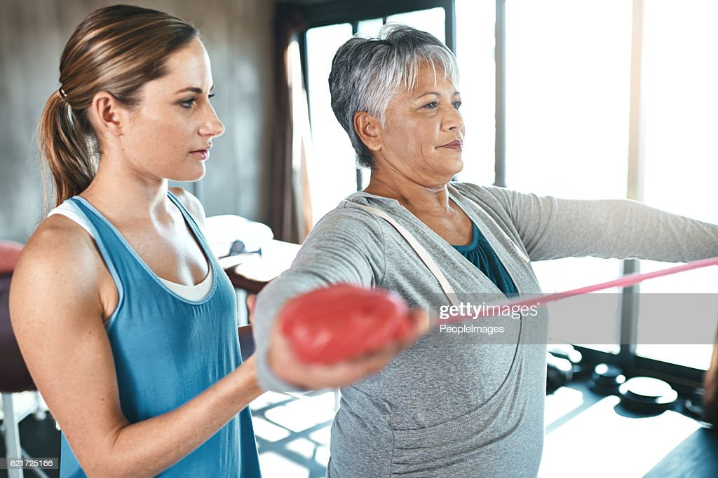 Aging with agility : Stock Photo