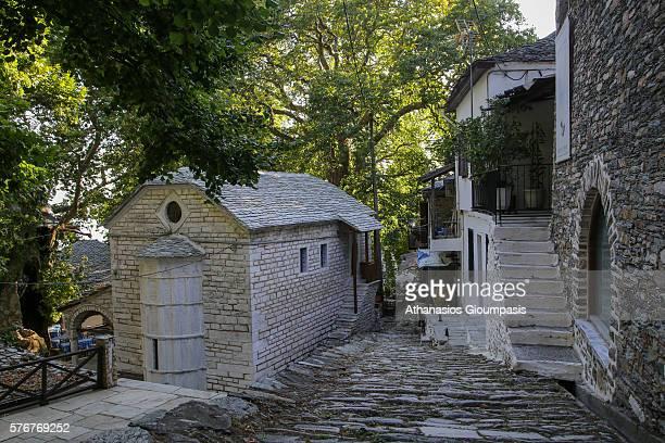 Agios Ioannis o Prodromos church or StJohn the Baptist church on July 10 2016 in PelionGreece