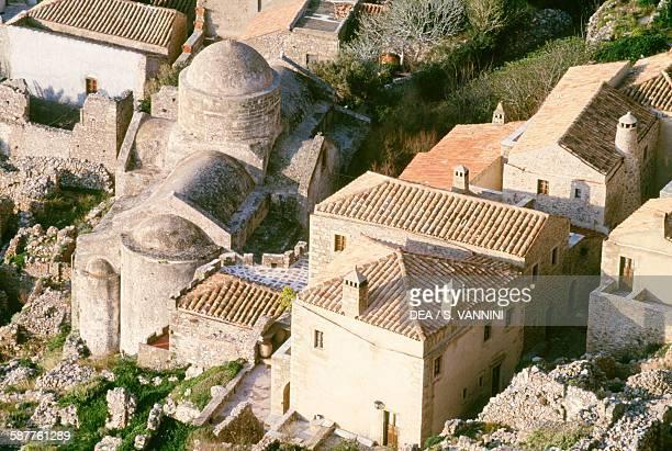 Agios Nicholaos church Monemvasia Peloponnese Greece
