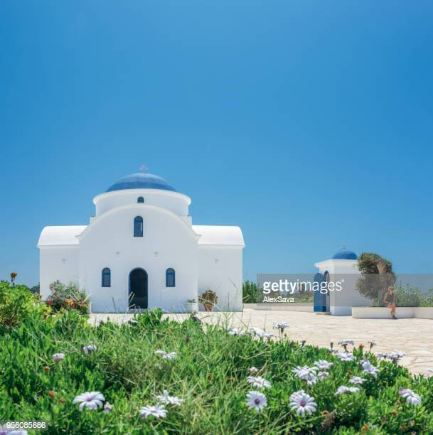 agios nikolas in protaras - cyprus island stock pictures, royalty-free photos & images