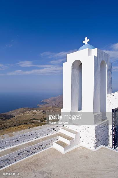 agios simeone church, near ellinika - simeone stock pictures, royalty-free photos & images