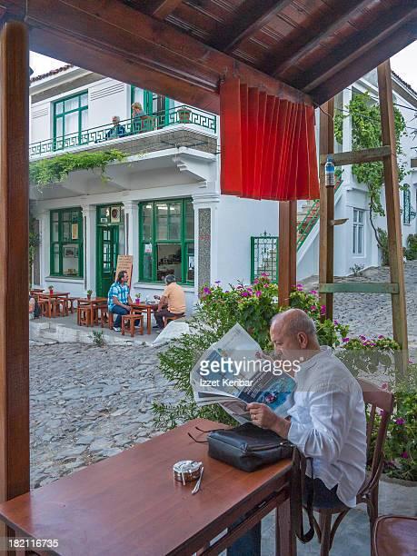 Agios Todori cafe in village center