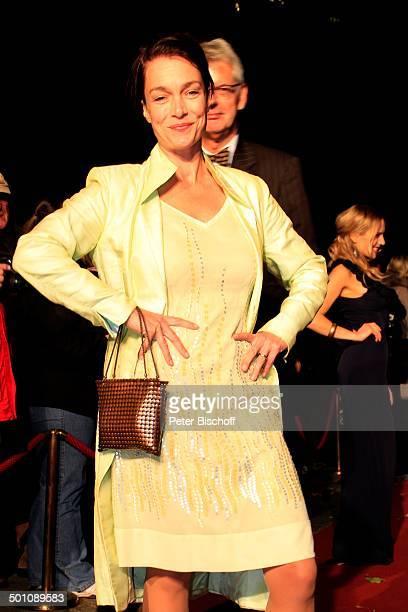Aglaia Szyszkowitz 20 Verleihung Hessischer Film und Kinopreis 2008 Alte Oper Frankfurt Hessen Deutschland Europa Filmpreis Filmpreisverleihung roter...