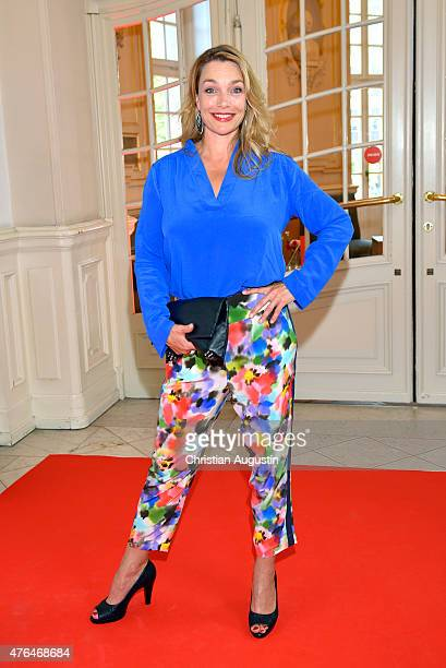 Aglaia Szyszkowitz attends Emotion Award at the Laeiszhalle on June 9 2015 in Hamburg Germany