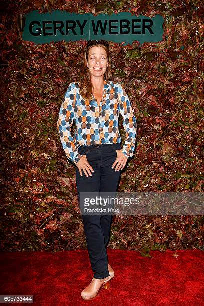 Aglaia Szyszkowitz attends the Gerry Weber shop opening on September 14 2016 in Munich Germany
