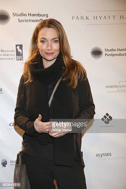 Aglaia Szyszkowitz attends the warmup party by Filmfoerderung Hamburg SchleswigHolstein at Kampnagel on January 24 2017 in Hamburg Germany