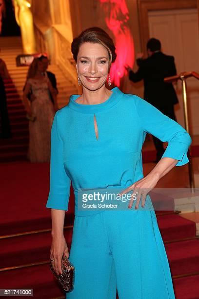 Aglaia Szyszkowitz during the 27th ROMY Award 2015 at Hofburg Vienna on April 16 2016 in Vienna Austria