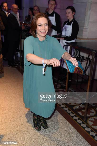 Aglaia Szyszkowitz during the Blue Hour Party hosted by ARD during the 69th Berlinale International Film Festival at Haus der Kommunikation on...