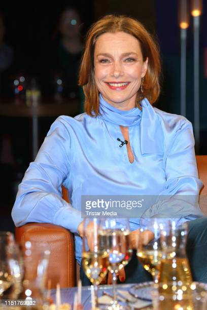 Aglaia Szyszkowitz during the NDR Talk show on May 24 2019 in Hamburg Germany