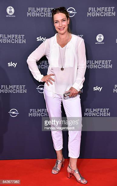 Aglaia Szyszkowitz during the opening night of the Munich Film Festival 2016 at Mathaeser Filmpalast on June 23 2016 in Munich Germany