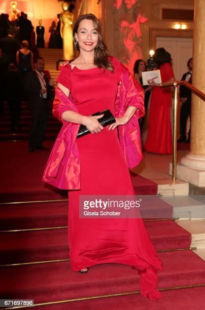 Aglaia Szyszkowitz during the ROMY award at Hofburg Vienna on April 22 2017 in Vienna Austria