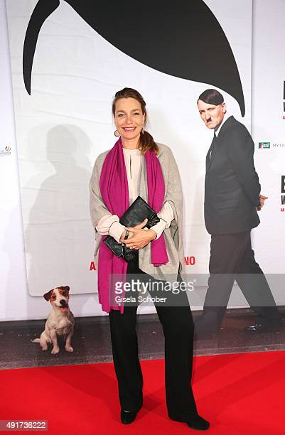 Aglaia Szyszkowitz during the special screening of the film 'Er ist wieder da' at Mathaeser Filmpalast on October 7 2015 in Munich Germany