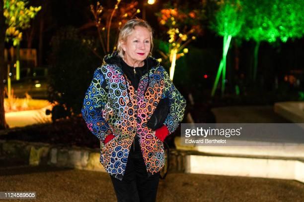 Agnes B attends 17th 'Diner De La Mode' To Benefit Sidaction At Pavillon d'Armenonville as part of Paris Fashion Week on on January 24 2019 in Paris...