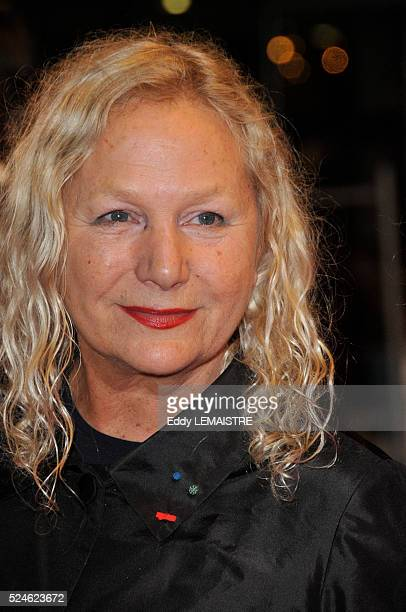 Agnes B attends the premiere of The Time That Remains during the 62nd Cannes Film Festival