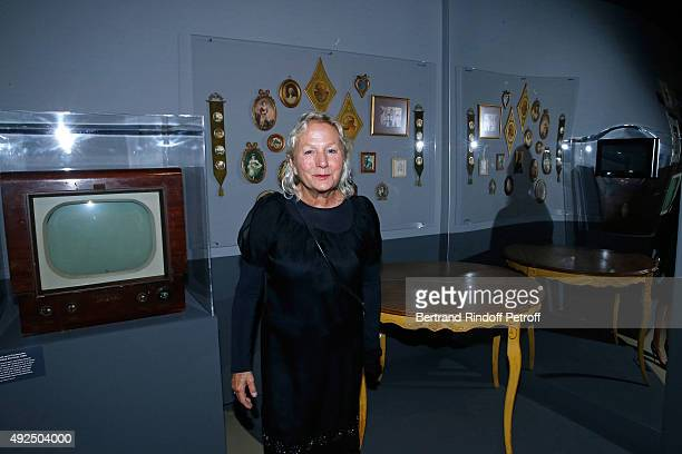 Agnes B. Attends the Tribute to Director Martin Scorsese at Cinematheque Francaise on October 13, 2015 in Paris, France.
